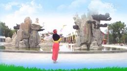 明英广场舞《情归草原》周至留念视频