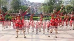 广西昭平香影广场舞幸福如歌队形版 编舞 王梅