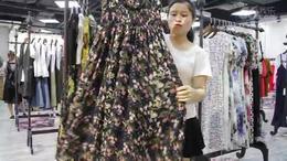 阿邦服装批发 时尚新款连衣裙30件起批  572期