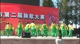 龙湾头广场舞——即墨秧歌大赛一等奖《健康舞》_0...
