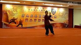 郭洪祯2016年在香港表演杨氏太极拳