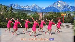 琪子广场舞    阿尔山的姑娘 (团队版)102