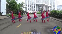 抚州左岸风情广场舞《康巴情》编舞:応子张春丽 制作:语蝶