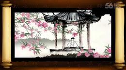 中国风,水墨画