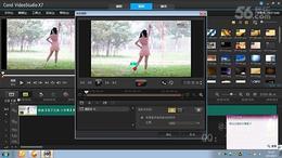 会声会影X7教程 20.动态追踪特效 替换视频人物头像方法...