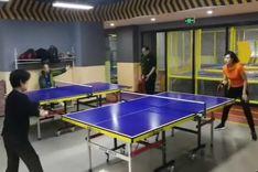 首届乒乓友谊赛