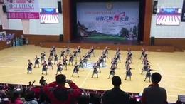广场舞大赛一等奖 永康社区代表队——摆手舞