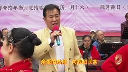 郑州第十一届海棠文化节 碧沙乐团巴志强演唱 骏马奔驰保边疆