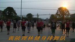 黄陂理林健身排舞队广场舞  祝酒歌