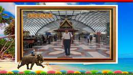 泰国旅游相片插入信封