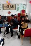 独唱《格桑梅朵》盘锦社康活动室