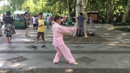 观音佛拳  演练陈庆琳