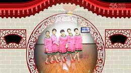 安妮广场舞原创《赞歌》红歌跳起来
