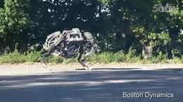 国外牛人设计的超级机器人 公牛1号,健步如飞【科技爱好】