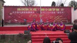2017年大方县牛场乡花坡节表演节目之十五——水西谣