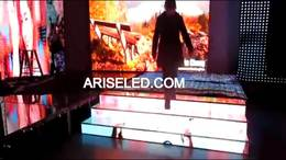 P5 P6 Dance floor led indoor full color stair led display