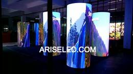 Full Color Outdoor Round curved shape LED Displays