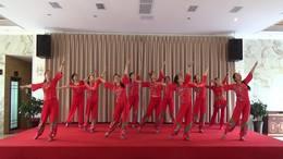 威远幸福广场舞《馨缘舞队》壹周年庆活动视频
