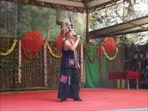 西双版纳雨林谷  歌舞表演<三>