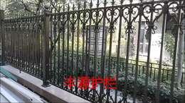 东莞黄江金地湖山大境铝艺围墙护栏