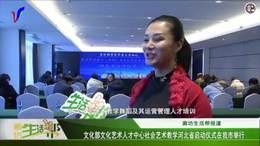 新闻 文化部文化艺术人才中心社会艺术教学河北省启动仪式