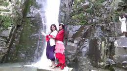 拍罗溪瀑布 赏自然美景
