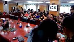 机关市监局插花沙龙天元莎莎花艺活动资深花艺师分享视频