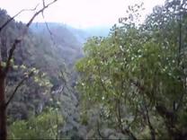 仙女山、地缝游