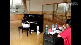 阿雅贝贝钢琴五级现场考级视频2011(7岁)