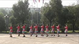 大塘角广场舞 祝酒歌 编舞:廖弟