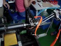 博泰机械自动上下料机械手弯线机