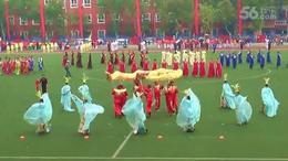 大型模特服装展示—西安未央区老年人体育健身展示会上的节目