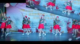 广西昭平香影广场舞水兵舞(比赛版)
