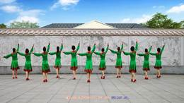 威远幸福广场舞《赞歌》团队版236
