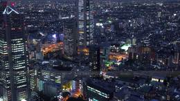 東京都市風景