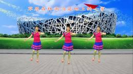 福建龙岩美连广场舞《母亲是中华》06编舞:娜娜  演示制作:美连