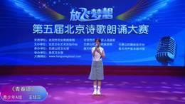 青少年诗歌朗诵比赛视频第五届放飞梦想北京诗歌朗诵大赛王佳蕊