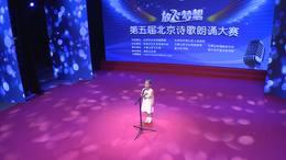 诗歌朗诵一等奖视频第五届放飞梦想北京诗歌朗诵大赛视频张敏行