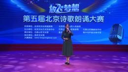 诗歌朗诵一等奖视频第五届放飞梦想北京诗歌朗诵大赛视频杨京敏