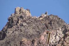 新疆盘吉尔怪石山
