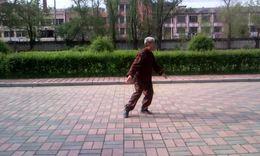 拳师赵家清演练陈氏小架一路太极拳(2011年6月录制)