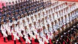 国庆70周年升国旗仪式