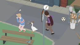 无题大鹅:我是一只鹅,我把小男孩推到在了水坑里