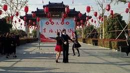 小拉《中国好姑娘》表演:西溪舞蹈群成员.