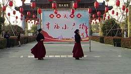 广场舞《站着等你三千年》编舞:无边.瓦瓦.表演:美方.兰云.