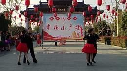交谊舞:伦巴《巴比伦河》表演:小丽等……