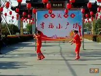 舞蹈:红歌串烧 《映山红》《沂蒙颂》表演:叶子.梅子.