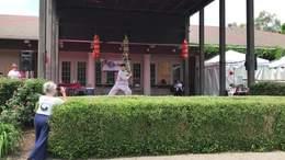 陈炳在亚洲节上的太极剑演练
