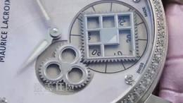 爱表狂魔003第三期AM艾美匠心系列方形轮神秘时间腕表