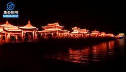 夜景亮化_陕西照明亮化工程,广济桥
